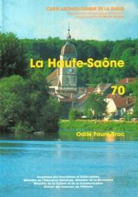 Carte archéologique de la Gaule. Volume 70, La Haute-Saône