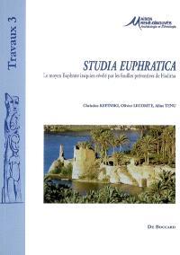 Studia Euphratica : le moyen Euphrate iraquien révélé par les fouilles préventives de Haditha