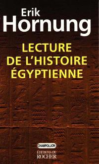 Lecture de l'histoire égyptienne