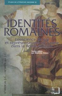 Identités romaines : conscience de soi et représentations de l'autre dans la Rome antique (IVe siècle av. J.-C.-VIIIe siècle apr. J.-C.)
