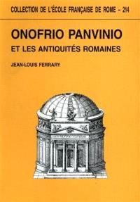 Onofrio panvinio et les antiquités romaines