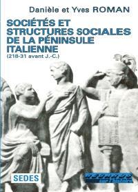 Sociétés et structures sociales de la péninsule italienne (218-31 av. J.-C.)
