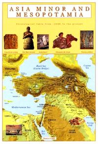 Asia minor and Mesopotamia : chronological table from -3300 to the present