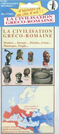 Découvrez la civilisation gréco-romaine : Homère, Socrate, Périclès, César, Plutarque, Virgile