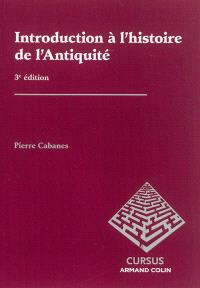 Introduction à l'histoire de l'Antiquité