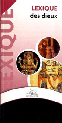 Lexique des dieux