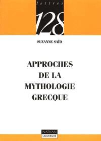 Approches de la mythologie grecque