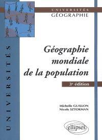 Géographie mondiale de la population