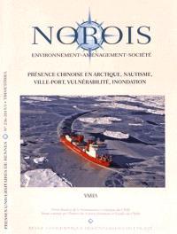 Norois. n° 236, Présence chinoise en Arctique, nautisme, ville-port, vulnérabilité, inondation