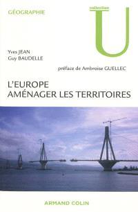 L'Europe : aménager les territoires