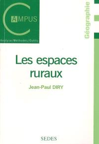 Les espaces ruraux
