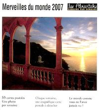 Merveilles du monde 2007
