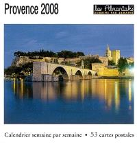Provence 2008 : calendrier semaine par semaine