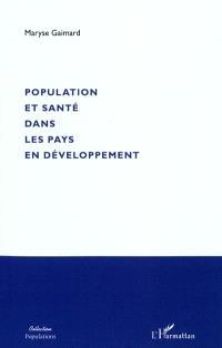 Population et santé dans les pays en développement