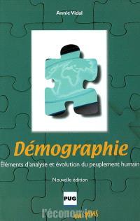 Démographie : éléments d'analyse et évolution du peuplement humain