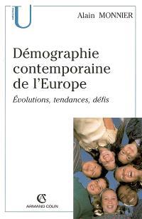 Démographie contemporaine de l'Europe : évolutions, tendances, défis