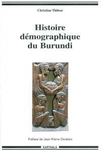 Histoire démographique du Burundi
