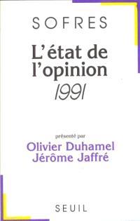 L'Etat de l'opinion : 1991