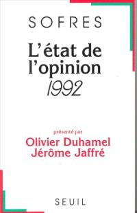 L'Etat de l'opinion : 1992