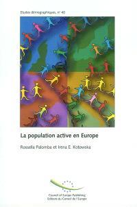 La population active en Europe