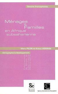 Ménages & familles en Afrique subsaharienne
