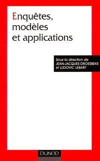Enquêtes, modèles et applications