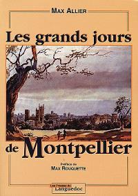 Les grands jours de Montpellier