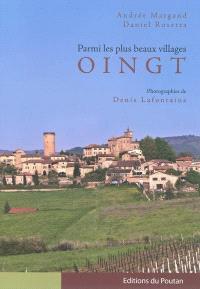 Oingt : parmi les plus beaux villages