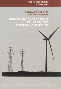 Transition énergétique et inégalités environnementales : énergies renouvelables et implications citoyennes en Alsace