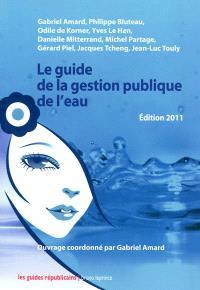 Le guide de la gestion publique de l'eau