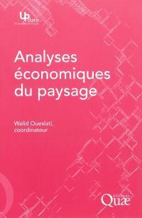 Analyses économiques du paysage