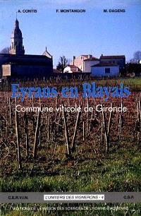 Eyrans en Blayais, commune viticole de Gironde