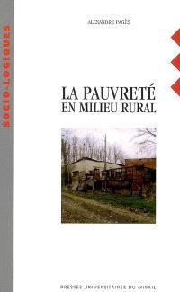 La pauvreté en milieu rural