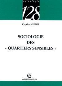 Sociologie des quartiers sensibles