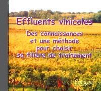 Effluents vinicoles : des connaissances et une méthode pour choisir sa filière de traitement
