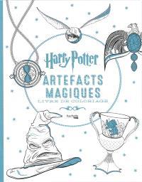 Harry Potter : artefacts magiques : livre de coloriage
