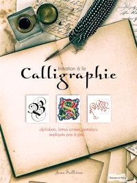Initiation à la calligraphie : alphabets, lettres ornées, entrelacs... expliqués pas à pas