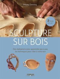 Sculpture sur bois : des réalisations pour apprendre pas à pas, des techniques pour créer à votre tour