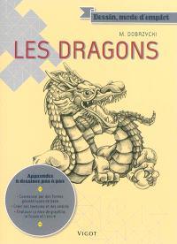 Les dragons : apprendre à dessiner pas à pas