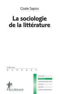 La sociologie de la littérature