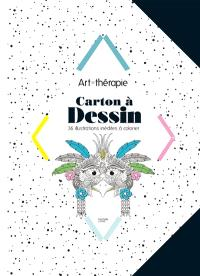 Carton à dessins : 36 illustrations inédites à colorier