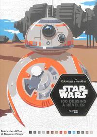 Coloriages-mystères Star Wars : 100 dessins à révéler