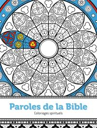 Paroles de la Bible : coloriages spirituels