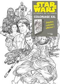 Star Wars, Le réveil de la force : coloriage XXL : les résistants