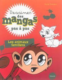 Dessiner des mangas pas à pas, Les animaux familiers