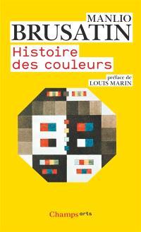 Histoire des couleurs