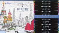 Initiation au voyage : 30 coloriages anti-stress