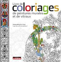 Livre de coloriages de peintures murales et de vitraux
