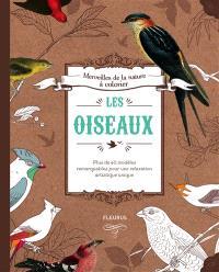 Les oiseaux : plus de 40 modèles remarquables par Audubon, Dresser et Bowen