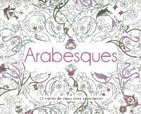 Arabesques : 12 cartes à voeux avec enveloppes